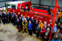 To fight bushfires - our town gets a new firetruck