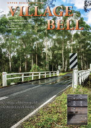 Charming old Cardinia Creek Bridge. Cover photograph: Cameron Rocke