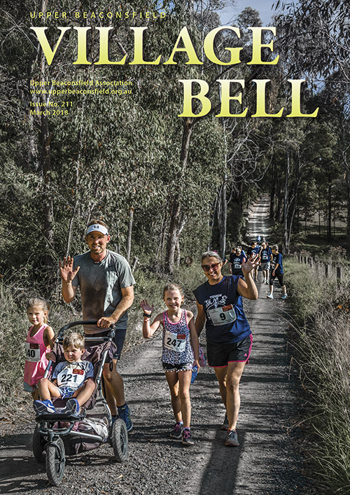 Tower Run 2018. Cover photograph: Cameron Rocke